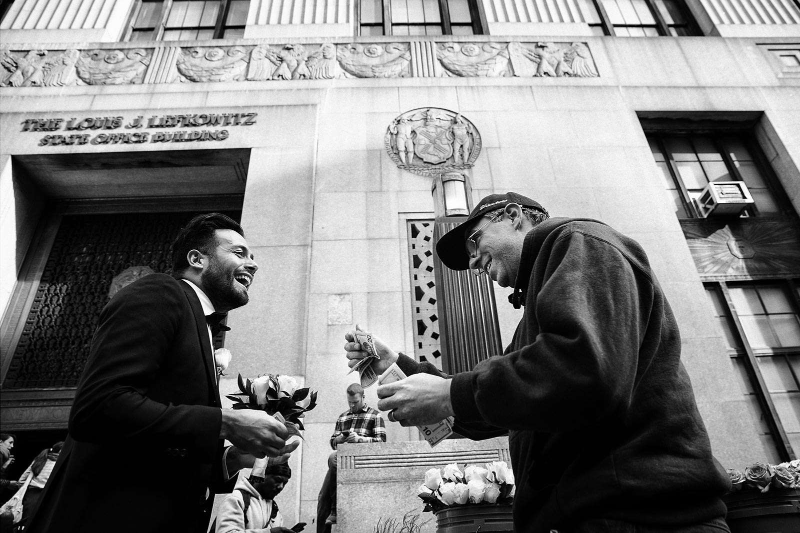 Francesca and Giuseppe\'s wedding on the streets of New York - Rino ...